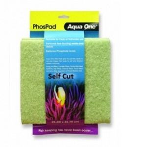 Aqua One PhosPad  Self Cut Filter Media Pad 10460