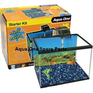 Aqua One Splish Splash Starter Kit Aquarium 21l Aqua
