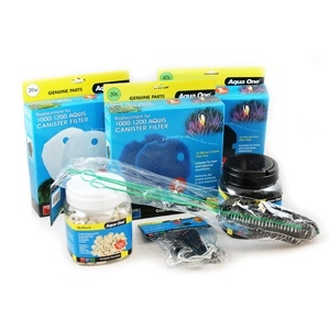 Aqua One Aquis CF500 Filter Kit with FREE Brushes