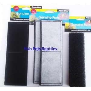 Aqua One Xpression 27 (6 Month Supply) Filter Replacement Kit