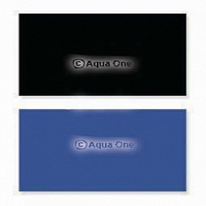 Aqua One Aquarium Black / Blue Background 24