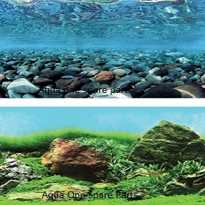 Aqua One Aquarium River Rock Background 12