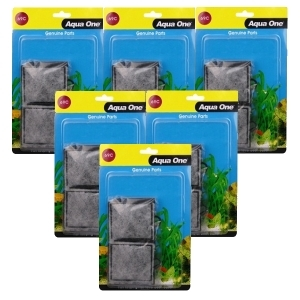 Aqua One 69c Carbon Cartridge Media Replacement Bulk Buy x 6