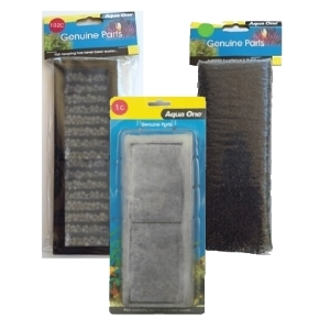 Aqua One Betta Duo Filter Replacement Kit