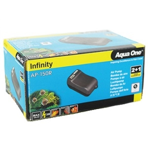 Aqua One Air Pump Infinity AP-150R & 1mtr  Airline 11129