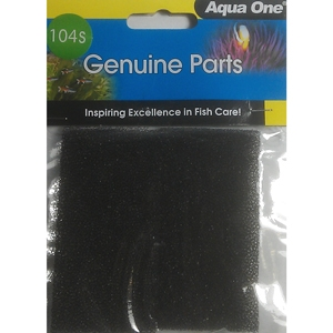 Aqua One (104s) EcosSyle 37 Filter Sponge