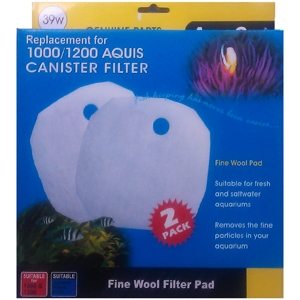 Aqua One (39w) Aquis External Filter 1000 Wool Pad