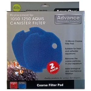 Aqua One Aquis 1050 Coarse Sponge Foam (403s)