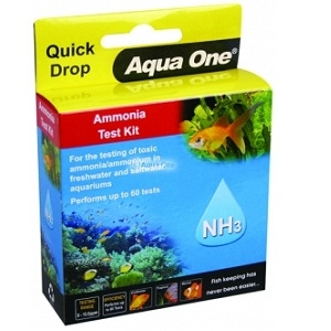 Aqua One Marine Ammonia Quick Drop Test Kit 92053