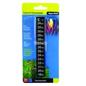 Aqua One Aquarium Stick on Digital Thermometer  10307