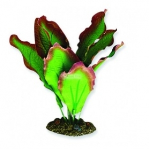 Aqua One Silk Plant 30cm Red/Green Amazon  24121
