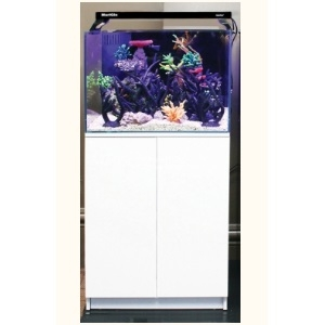 Aqua One Minireef 120 Aquarium and Cabinet White PRE-ORDER