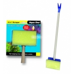 Aqua One Aquarium 4 in 1 Scraper Tool 35cm 10322