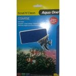 Aqua One Panoramic Scrub N Clean Glass Cleaning Pad Large 23202