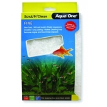 Aqua One Scrub N Clean Plastic Fine Cleaning Pad Large 23204