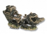 Aqua One Shipwreck Split Ornament  29042