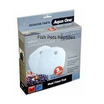 Aqua One 405w Wool Pad 2250 / 2450 External Filter Media