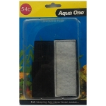 Aqua One 54c Carbon Cartridge Media splish splash Tank