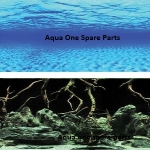 "Aqua One Aquarium SeaView Background 24"" Tall x 8ft"