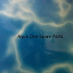 "Aqua One Aquarium Reflections Background 12"" Tall x 8ft Wide"