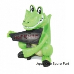 Aqua One Crocodile No Fishing Sign Ornament  37128