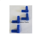 Aquarium Air line Elbow Connectors  4 per pack