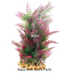 Aqua One Vibrance Plant Purple Mix Fern with Gravel Base (XL) 28224