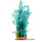 Aqua One Vibrance Large  Blue Myrio Plastic Plant Decor 28206