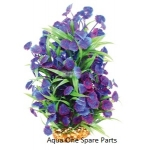 Aqua One Vibrance Blue Centauria Large Plastic Plant Decor 28212