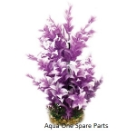 Aqua One Vibrance Purple Ludwigia Large Plastic Plant Decor 28214