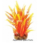 Aqua One Vibrance Orange Cabomba Plastic Plant Medium  28190