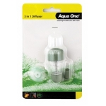 Aqua One CO2 3 in 1 Diffuser with Bubble Count Nano 15014