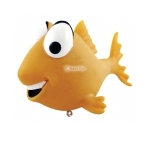 Aqua One Floating Gold Fish Childs Decor Ornament 36611