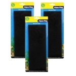 Aqua One (1s) Sponge Pads Aquarium Filter Media Bulk Buy x 3