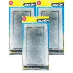 Aqua One (2c) Carbon Cartridge Media Replacement Triple Pack