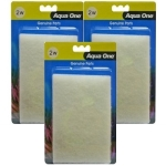 Aqua One ( 2w ) Wool Pad Media Replacement Bulk Buy x 3
