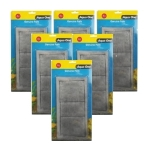 Aqua One 4c Carbon Cartridge Media Replacement 6 x Packs