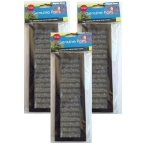 Aqua One 102c Filter Media Replacement Triple Pack