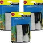 Aqua One (54c) Carbon Cartridge Media  x 3 Packs