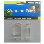 Aqua One AquaNano 22 Glass Aquarium Clips (56160) Two Packs