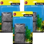 Aqua One 69c Carbon Cartridge Media AquaStart Pro (3 Packs)