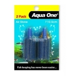 "Aqua One Aquarium 1"" Cylinder Airstone 2 Per Pack"