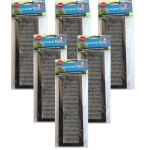 Aqua One 102c AquaNano 80 / 130  Replacement Media Cartridge x 6