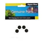 """Aqua One Maxi 104F Internal Filter Suction Cups 11056"""