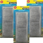 """Aqua One (1c) Carbon AquaNano Cartridge 40 / 55l Triple Pk"""
