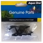 Aqua One AquaStart 500 Lid Hinges (11061BK) Black