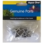 Aqua One AquaStart 500 Lid Hinges (11061SV) Silver