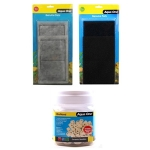 Aqua One (3c 3s 600 Noodles) AquaStyle 620 Aquarium Complete Filter Set