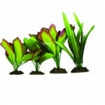 Aqua One Silk Plant Set 4pk 24243