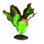 Aqua One Silk Plant 20cm Red/Green Amazon  24111